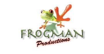 Frogman Productions Logo Design