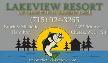 Lakeview Resort Business Card Design