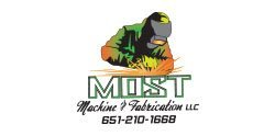 most machine & fabrication Logo Design