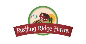 Rustling Ridge Farms Logo Design